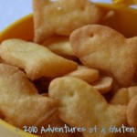 "Gluten Free ""Goldfish"" Crackers"