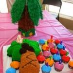 Chicka Chicka Boom Boom Cake