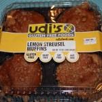 Udi's Lemon Struesel Muffins