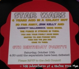 Clone Trooper Party Invitations1