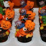 Halloween Cupcakes for the Preschool Set