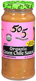 505 Organic Green Chile
