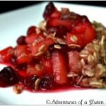 Gluten-Free Cranberry Apple Crisp