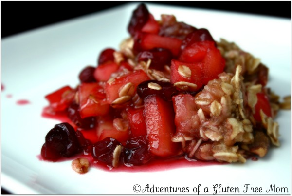Gluten-Free Cranberry Apple Crisp