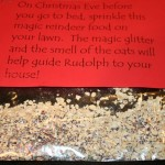 gluten free, reindeer food, recipe, kids, Christmas