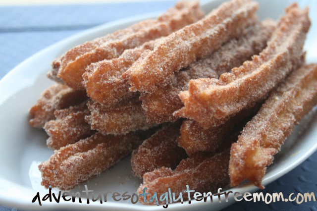 Gluten Free Churros | Adventures of a Gluten Free Mom