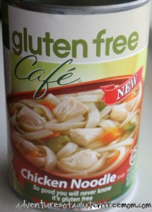 Gluten Free Cafe Chicken Noodle Soup1