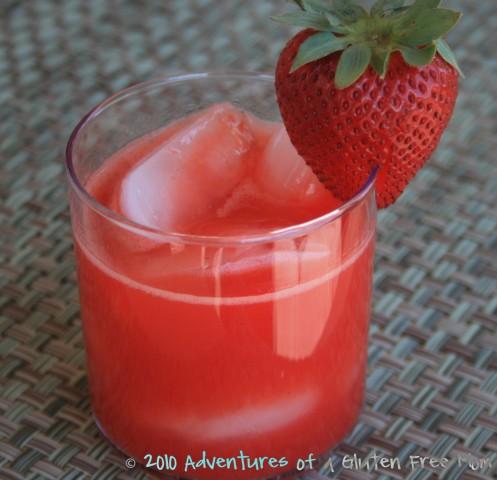 Agua Fresca Strawberry agua frescas