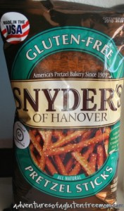 Synder's GF Pretzels0