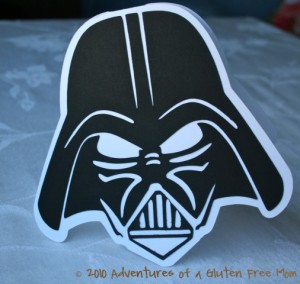 Darth Vader Party Invitations0