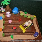 Dye-Free Jungle Junction Birthday Cake