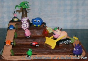 Gluten-Free Dye-Free Jungle Junction Birthday Cake1