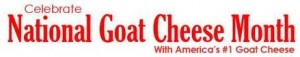 Chavrie National Goat Cheese Month Banner