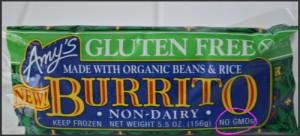 Amy's Gluten Free Burrito5