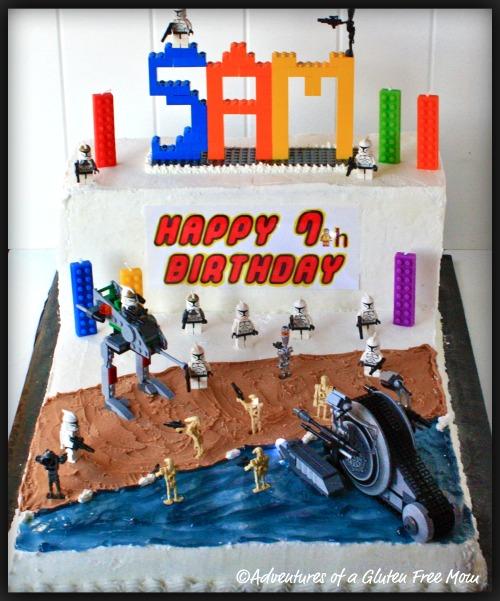 Brilliant Dye Free Star Wars Lego Cake Funny Birthday Cards Online Overcheapnameinfo