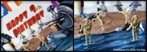 Dye-Free Star Wars Lego Cake1