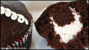 Gluten Free, Dairy Free Hostess Cupcake