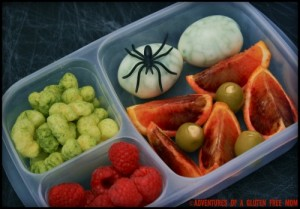 Halloween School Lunch*
