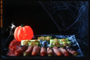 Healthy Halloween Finger Foods