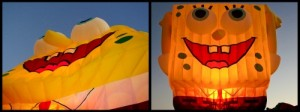 Spongebob Hot Air Balloon