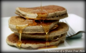 Gluten, Casein, Egg and Soy-Free Pancakes