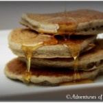 Fluffy Buckwheat Pancakes, Chia Egg Replacer & Corn-Free Baking Powder