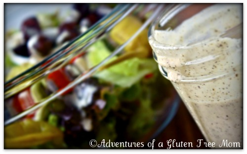 Creamy Greek Salad Dressing (dairy-free)