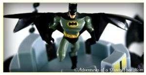 Dye-Free Batman Cake