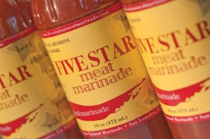 Five Star Natural Meat Marinade