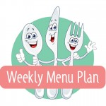 Weekly Menu Plan – Week of July 4th