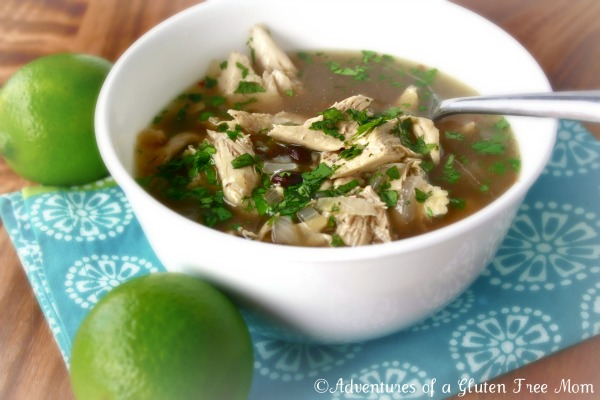 Kickin' Chicken Soup, Recipe, Gluten-Free