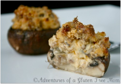 Gluten-Free Stuffed Mushrooms, Dairy-Free Stuffed Mushrooms, Gluten-Free Diet, Appetizers, Holiday Finger Foods, Gluten-Free Recipes