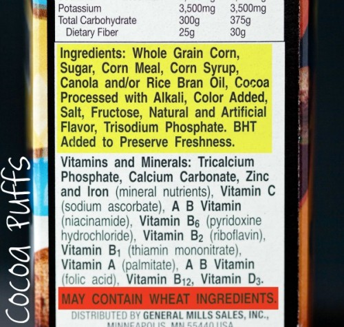 All about Gluten Free (Boxed) Cereals