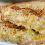 Southwest Grilled Cheese and Bologna Sandwich for National Grilled Cheese Month